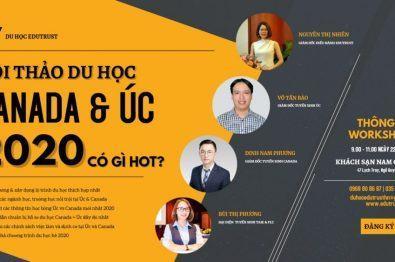 Workshop Du Học: Canada Và Úc – Lựa Chọn Nào Có Lợi Hơn Cho Du Học Sinh Việt Nam